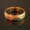 bandana-hand-engraved-wedding-band-18k-yellow-gold