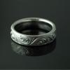 bandana-hand-engraved-wedding-band-platinum