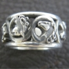 acanthus-horse-ring-sterling-size-6-25