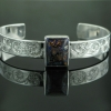 engraved-silver-cuff-black-opal-web